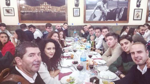 Juventud Taurina de Salamanca celebra su cena de Navidad