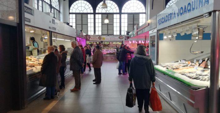 El Mercado Central, un hervidero estos días