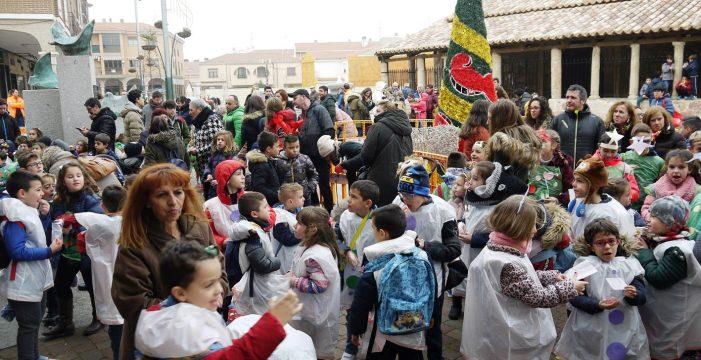 Carbajosa celebra su Nochevieja anticipada