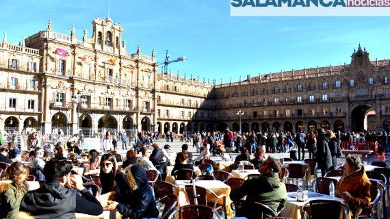 Salamanca cerrará el año con otro récord de pernoctaciones