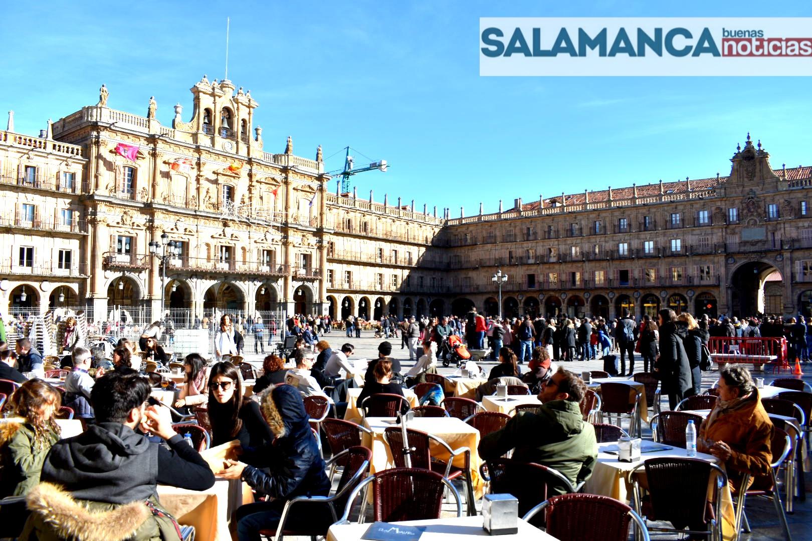 Salamanca rondará los 20 grados los próximos días