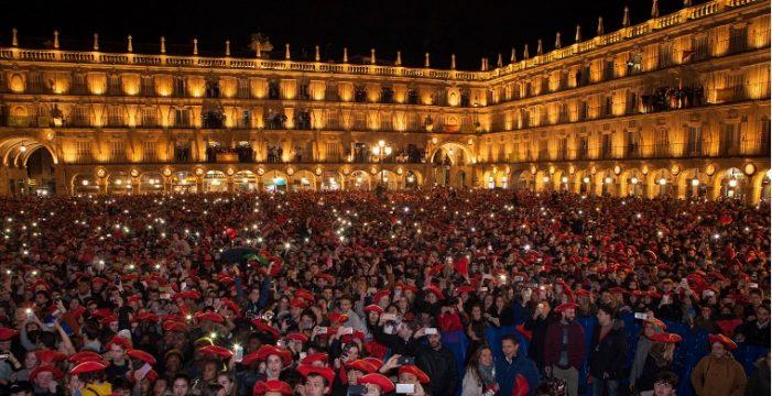 La Plaza Mayor, foco de atención de un Fin de Año Universitario que reunirá a 40.000 visitantes