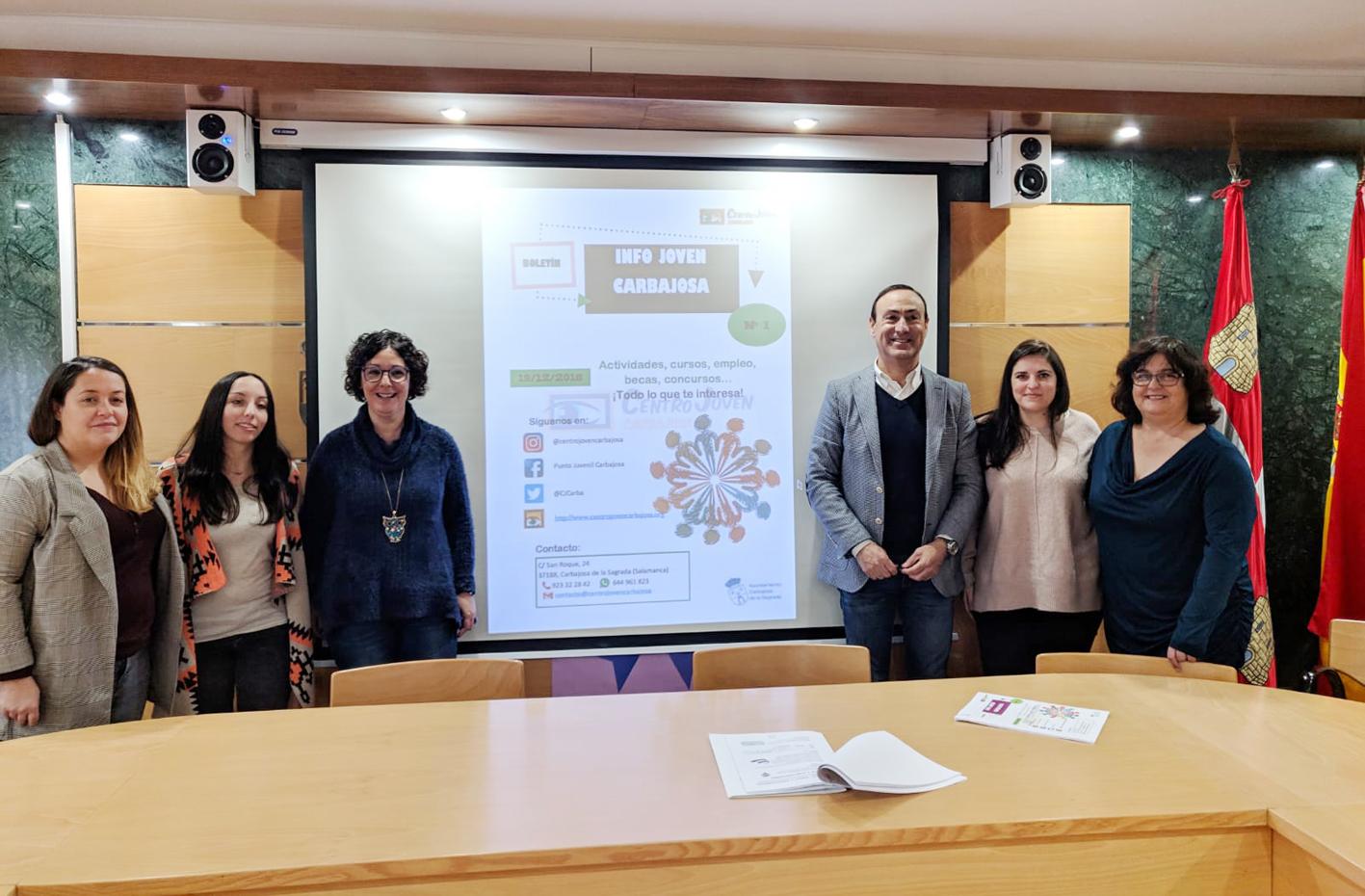 'Info Joven': el nuevo punto de interés para los jóvenes de Carbajosa