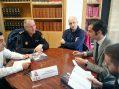 Los representantes de los comercios de reunen con la Policía Local para reforzar la seguridad en Navidad