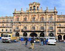 La Plaza Mayor se prepara para el Fin de Año Universitario