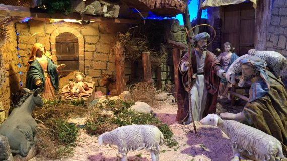 El Belén de la Cofradía del Cristo Yacente, un clásico