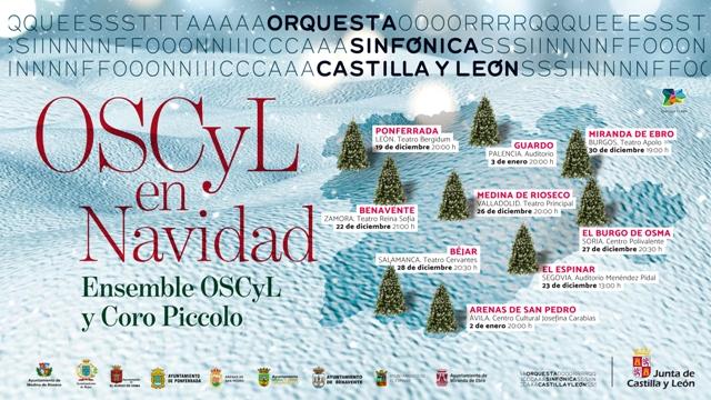 Béjar es la siguiente parada de los conciertos de la Ensemble OSCyL y el Coro Piccolo