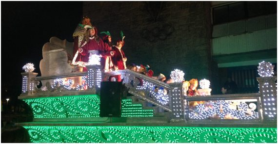 Espectacular Cabalgata para recibir a SS MM Los Reyes Magos de Oriente el sábado
