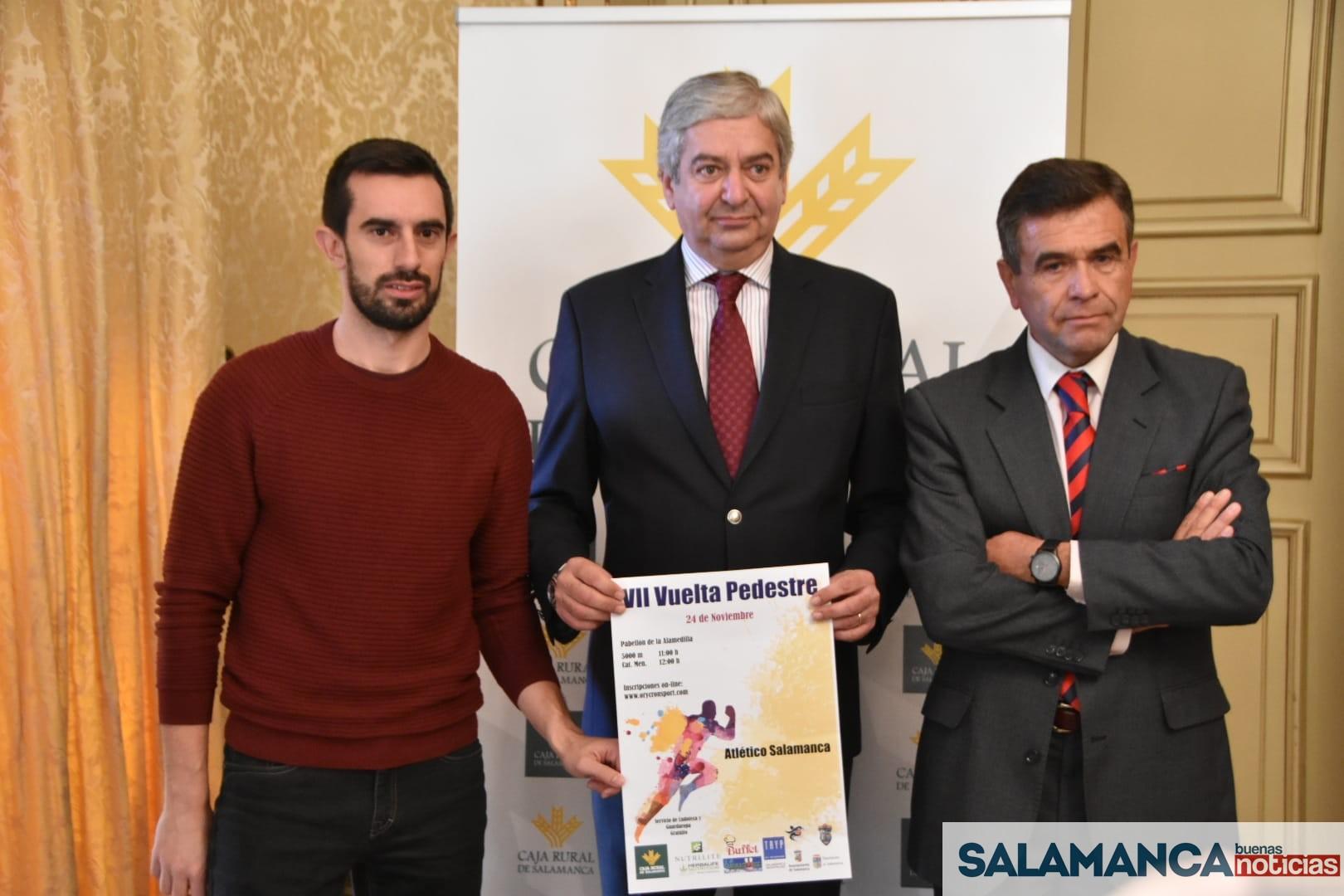 La séptima edición de la Vuelta Pedestre congregará en Salamanca a 700 atletas el próximo 24 de noviembre