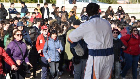 Salamanca marcha contra la obesidad y por la salud y buena alimentación