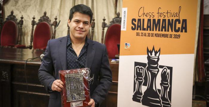 El venezolano Eduardo Iturrizaga se lleva el 'II Salamanca Chess Festival' de ajedrez