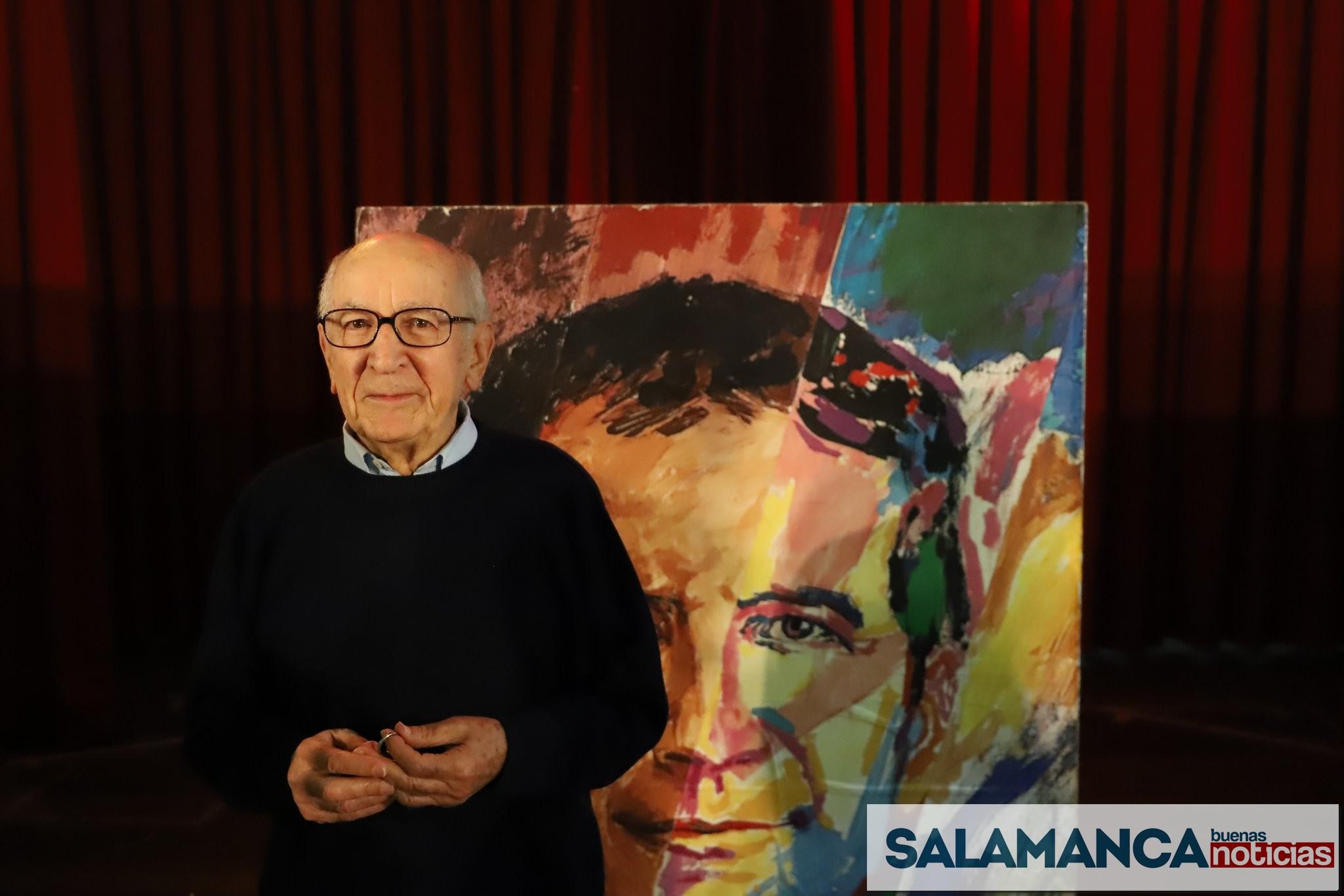 Don Pablo, el profesor más longevo de España se jubila en Los Salesianos de Mª Auxiliadora de Salamanca