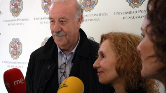Vicente del Bosque: 'El deporte tiene un poder educativo tremendo'