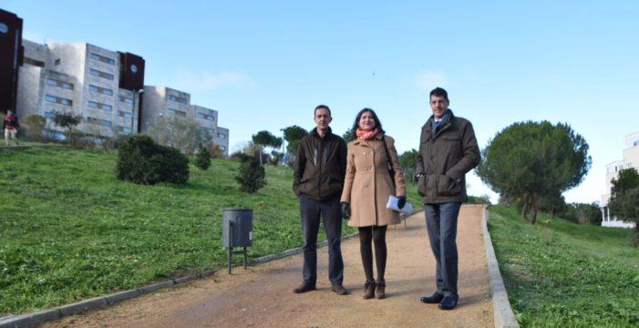 Salamanca disfruta de una renovada zona verde en el Teso de la Feria