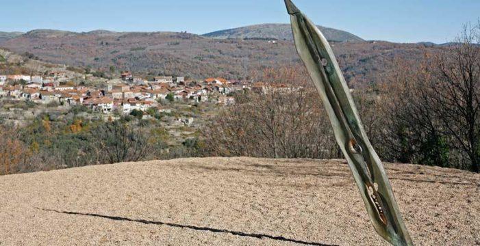 La Diputación de Salamanca denuncia la sustracción de una escultura del Camino del Agua