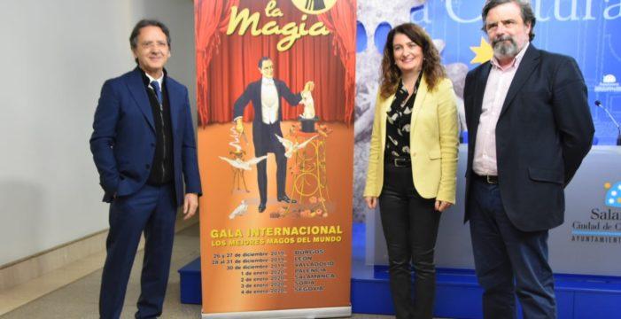 El espectáculo 'Salamanca vive la Magia' vuelve a nuestra ciudad en las fechas navideñas