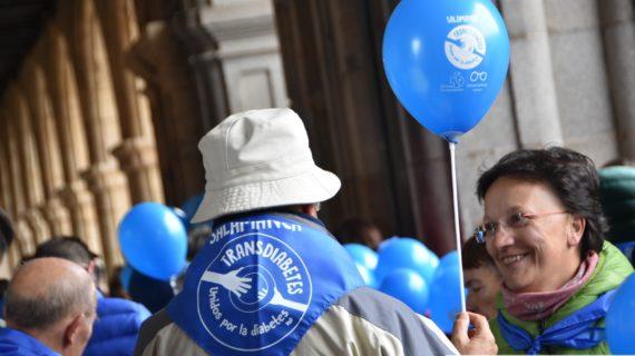 Salamanca por la Diabetes en su día mundial