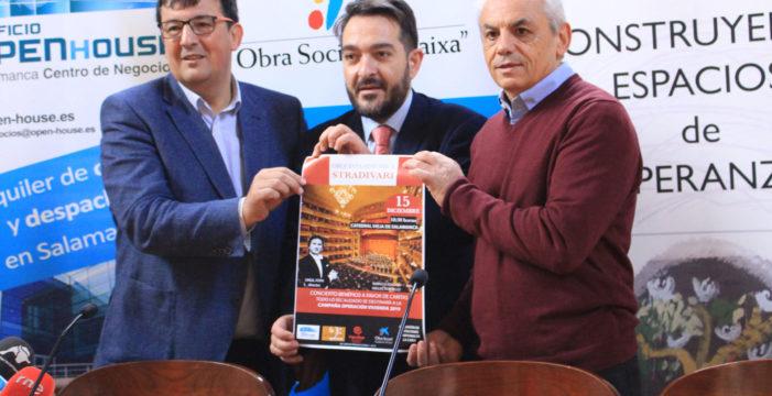 """La campaña """"Operación Vivienda"""" recibe la ayuda de Cáritas en un Concierto Benéfico de Navidad"""