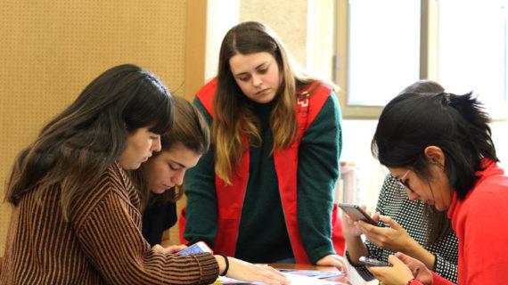 Universitarios de la UPSA aprenden valores sobre feminismo, violencia de género y amor romántico