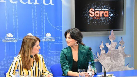 """La actriz salmantina Guadalupe Lancho protagoniza este sábado la obra """"Mi última noche con Sara"""""""