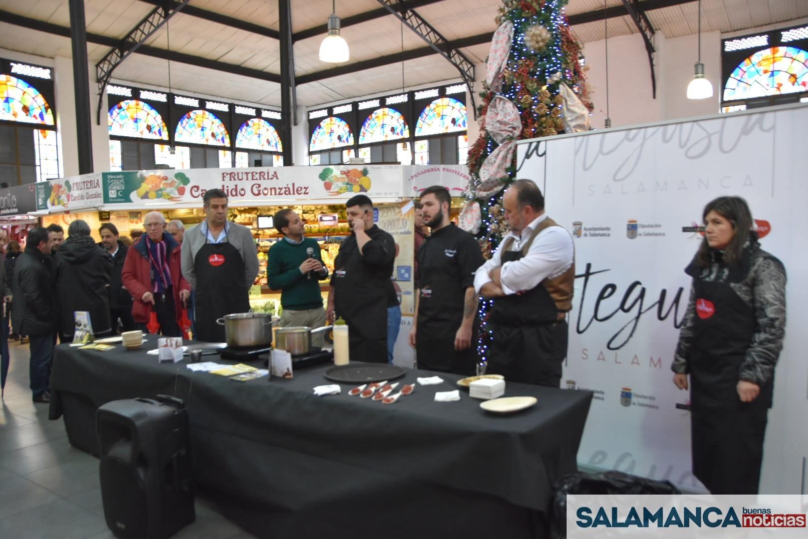 La ternera de Salamanca, protagonista de la última actuación del año de la marca TeGusta Salamanca