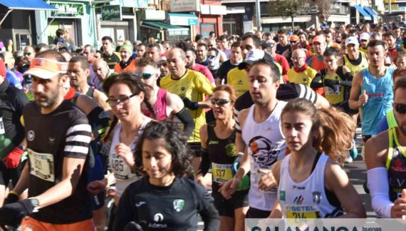 La San Silvestre salmantina ocasionará cortes de tráfico en la ciudad