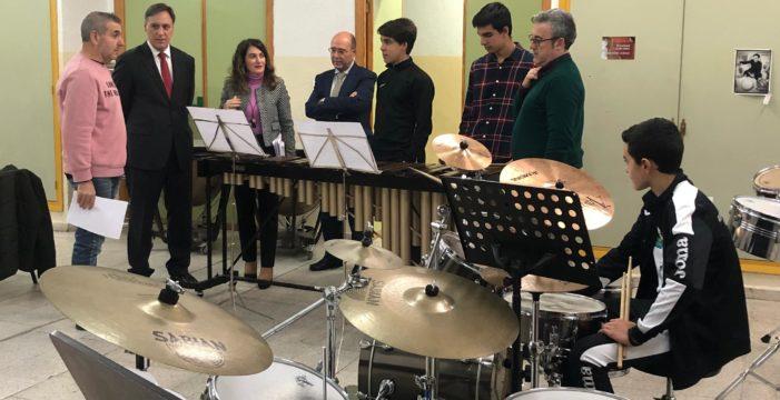 La Escuela Municipal de Música y Danza dará más actuaciones y conciertos