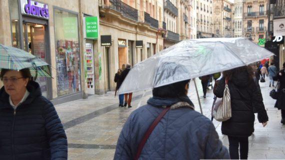 La Policía Local y Bomberos de Salamanca actuaron hasta en 28 ocasiones a causa del temporal