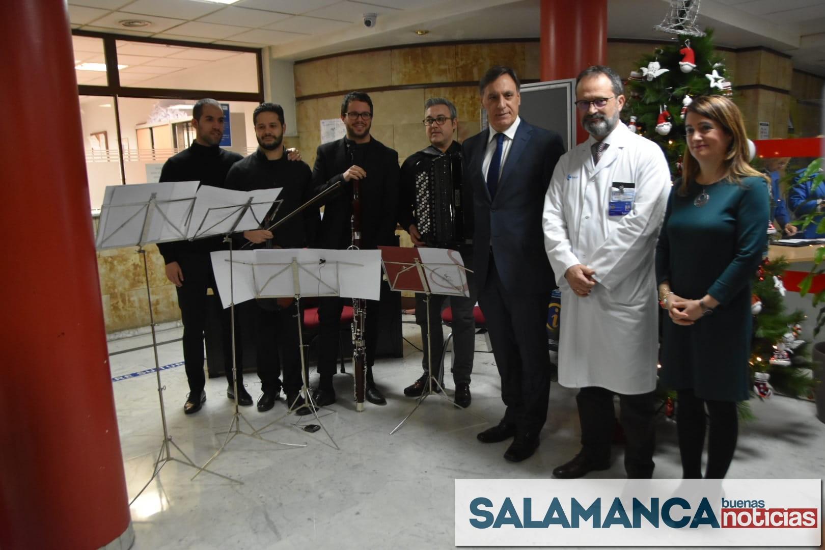 'Cápsulas Musicales' para los pacientes del Hospital Clínico Universitario