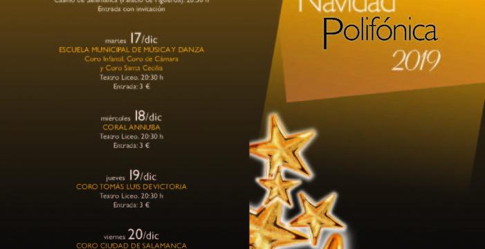 Arranca el ciclo de Navidad Polifónica organizado por el Ayuntamiento