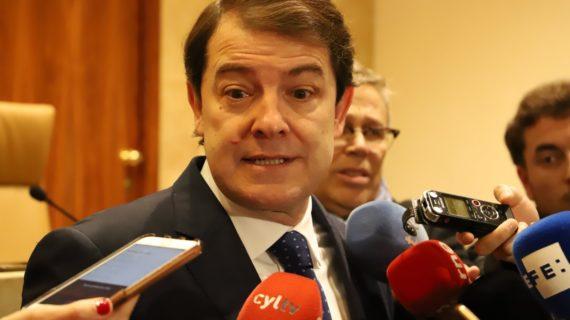 Mañueco muestra preocupación por la formación del nuevo Gobierno de Sánchez