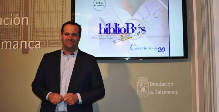 Los Bibliobús de la Diputación de Salamanca llegarán este año a 195 municipios