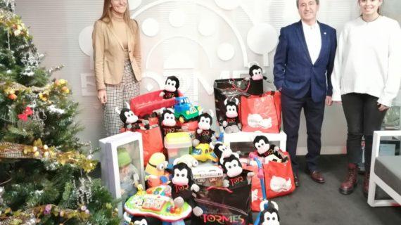 El Tormes colabora con la gran recogida de juguetes de Cruz Roja de Salamanca